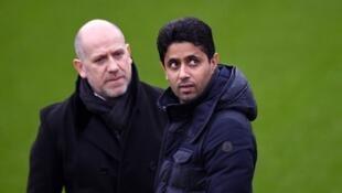 Le président du PSG Nasser Al-Khelaifi et son directeur sportif Antero Henrique doivent trouver plusieurs dizaines de millions d'euros pour rentrer dans les clous du fair-play financier.