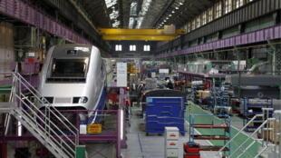 Alstom - Construção do TGV
