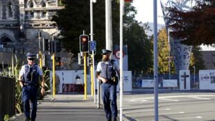Nova Zelândia policia AP20085779606653