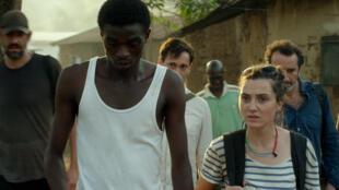 Photo extraite du 2ème long métrage de Boris Lojkine, «Camille». Ce film traite du destin tragique de Camille Lepage, assassinée en Centrafrique en 2014.