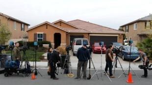Ngôi nhà nơi 13 người con của cặp vợ chồng Turpin bị chính bố mẹ mình giam giữ, Perris, California, 15/01/2018.