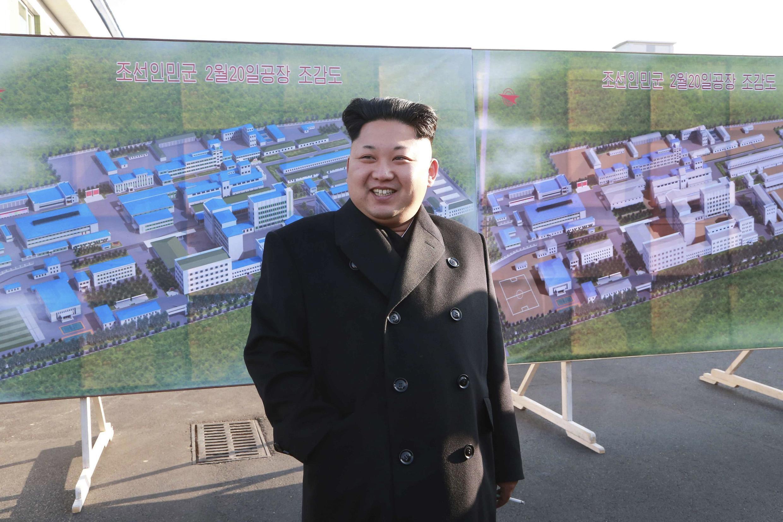 Chỉ thị nghiêm cấm dân Bắc Triều Tiên mang tên họ Kim Jong Un được ban hành vào đàu năm 2011 - REUTERS /KCNA