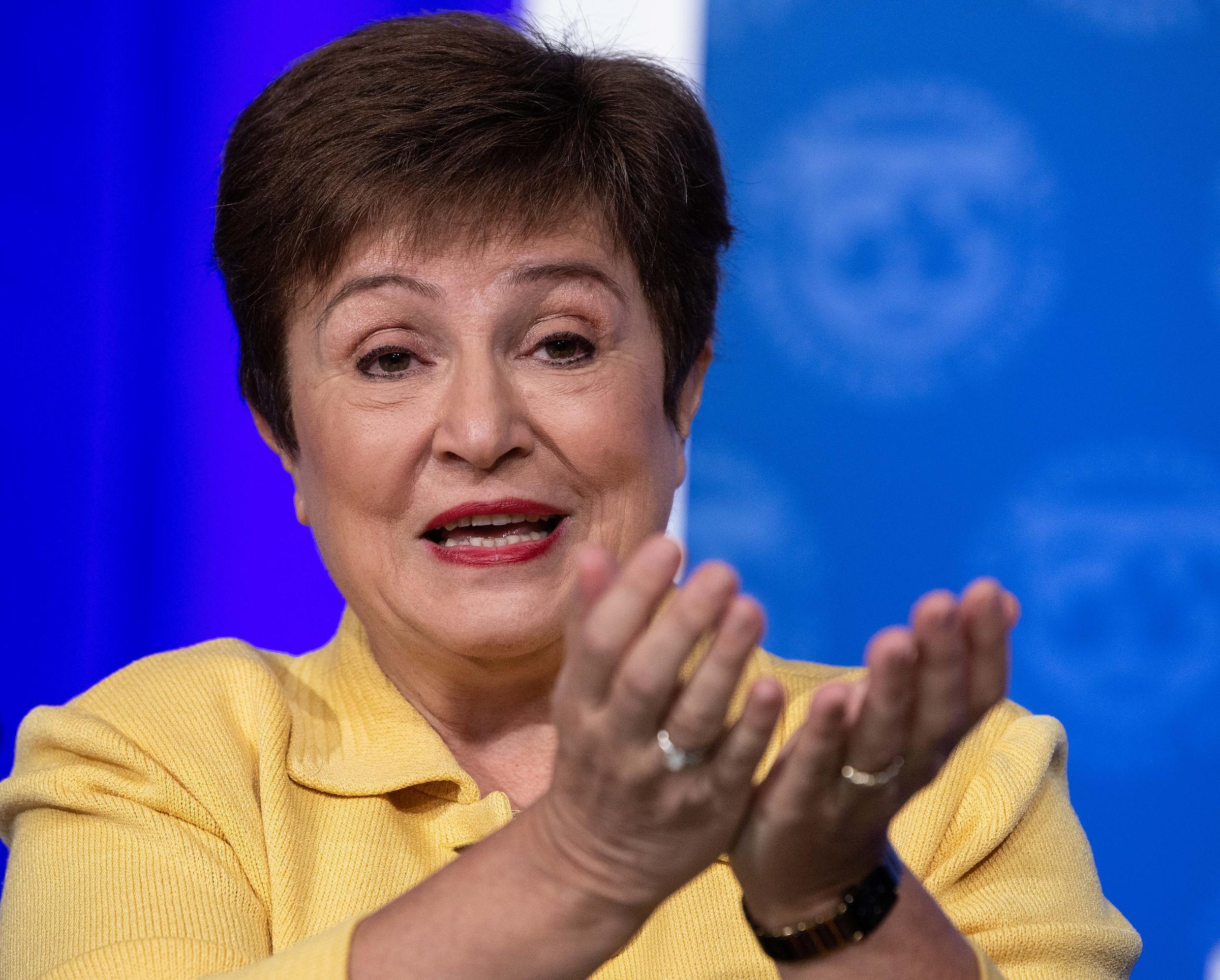 IMF Managing Director Kristalina Georgieva is hammering home the message that governments must help the poorest countries out of the Covid-19 crisis