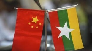 中國緬甸國旗