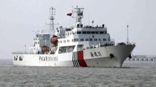 Một tàu hải giám Trung Quốc hoạt động trên Biển Đông.