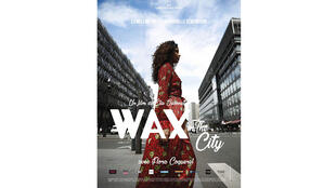 Affiche du film documentaire «Wax in the city» d'Elie Séonnet.