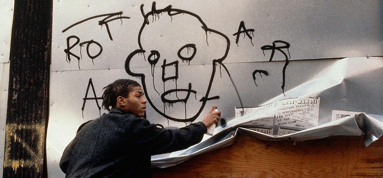 美國塗鴉藝術家巴斯奇亞(Jean-Michel Basquiat)