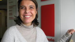 Clara Ramírez en RFI.