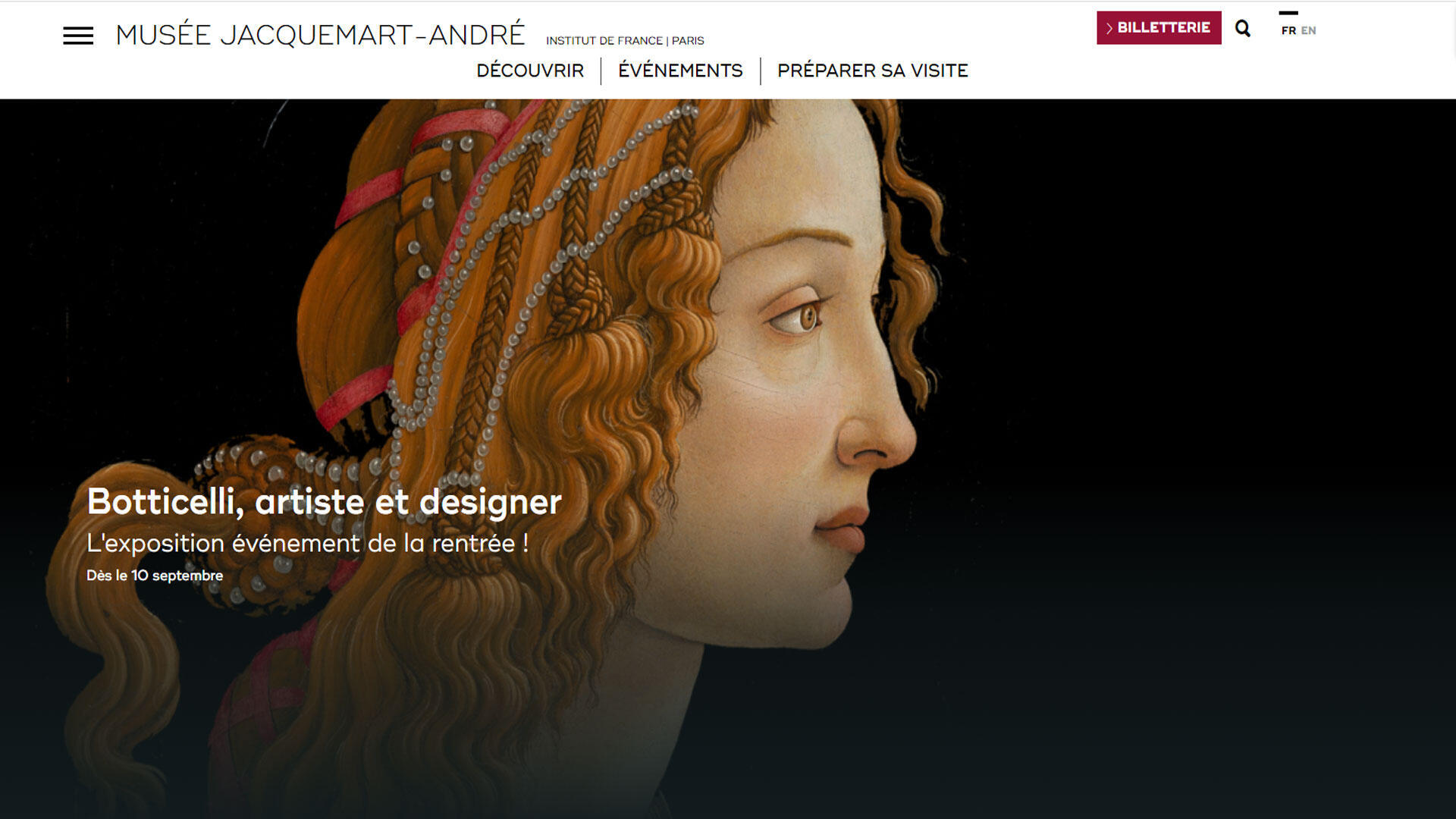 Exposition Boticelli