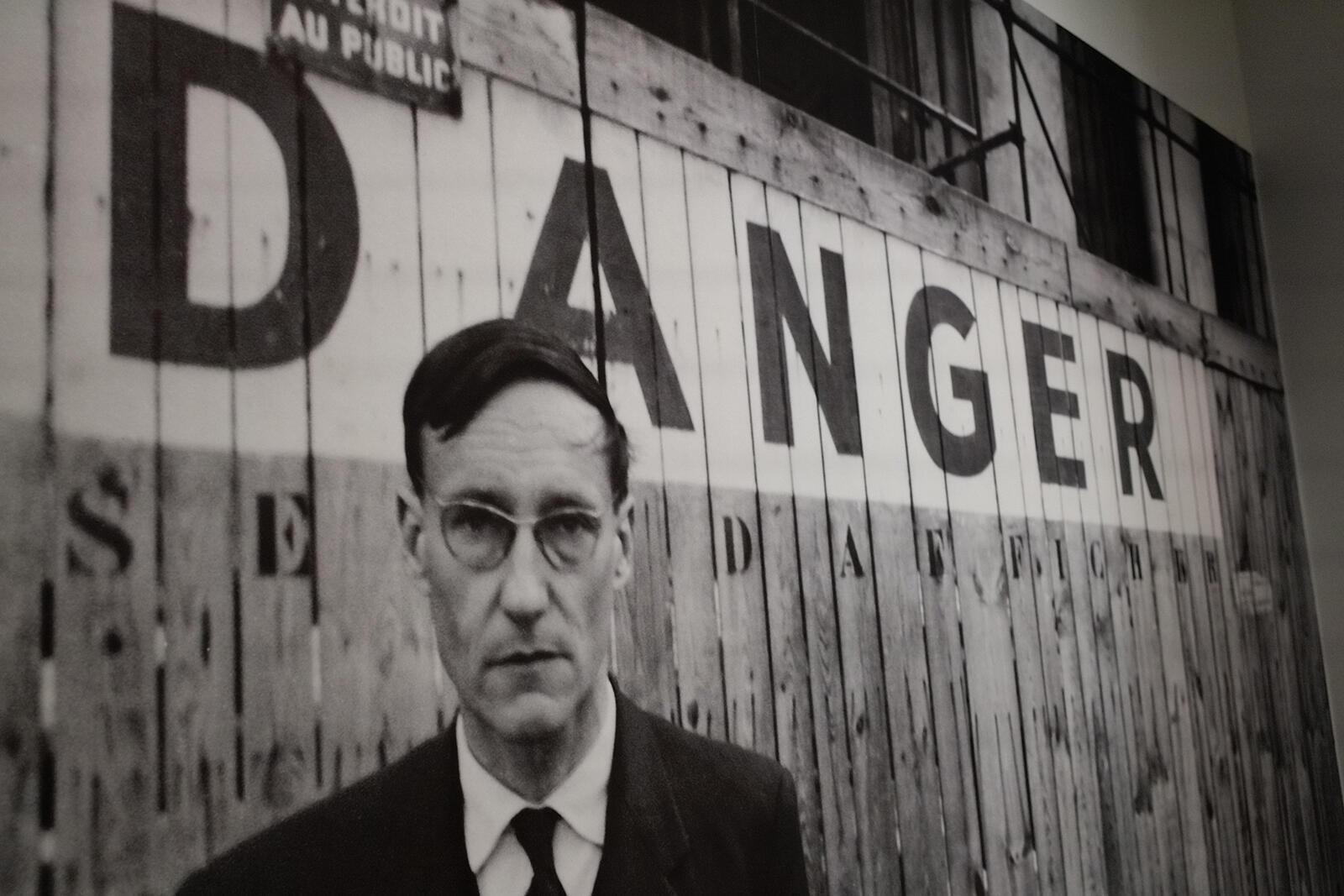 Le plus sombre des anges de la Beat Genration : William Burroughs, pris en photo par Brion Gysin.