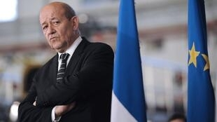 French Defence Minister Jean-Yves Le Drian.