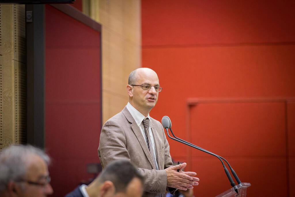 Jean-Michel Blanquer lors d'une séance d'ouverture au Sénat, 2014.