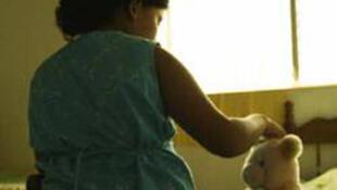 Alejandra, de 12 años, víctima de abuso sexual en Nicaragua.