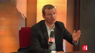 Guillaume Balas sur RFI le 13 octobre 2017.