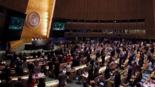 L'Assemblée générale de l'ONU, le 28 octobre 2016.