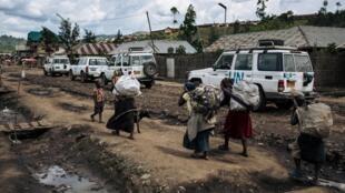 Motocin dakarun MONUSCO a jamhuriyar Dimokradiyar Congo.