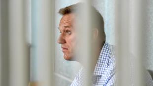 Navalny sobrevivió a un envenenamiento casi fatal en el verano pasado, del que acusa al Kremlin