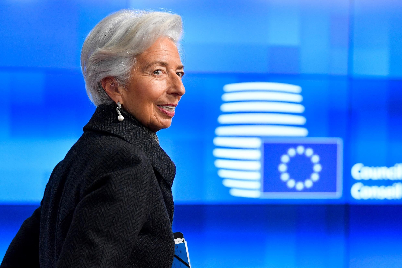 លោកស្រី Christine Lagarde ប្រធានធនាគារកណ្តាលអឺរ៉ុប