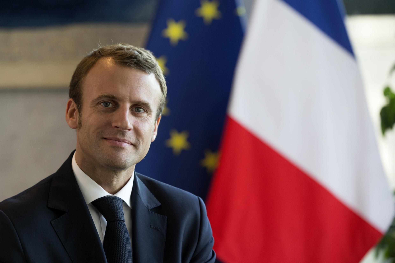 O ministro da Economia francês, Emmanuel Macron.