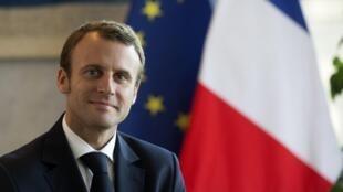 French Economy Minister Emmanuel Macron.
