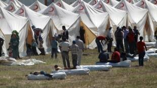 Moja ya kambi ya wakimbizi wa Syria iliyoko nchini Uturuki