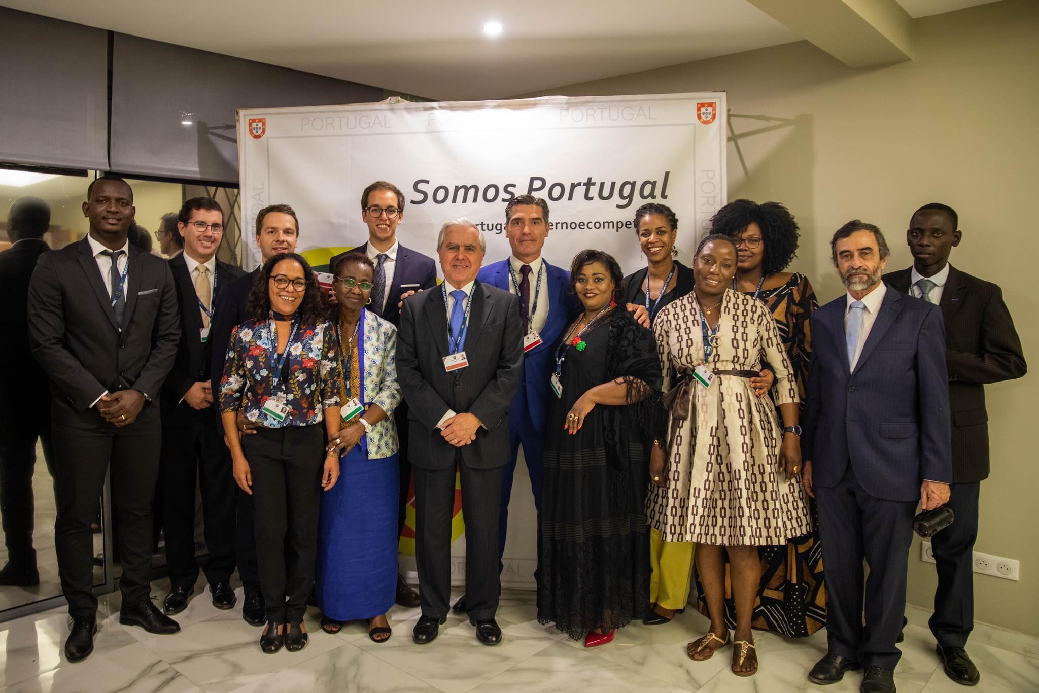 Portugal acaba de inaugurar em Dacar as suas novas instalações da Embaixada no Senegal