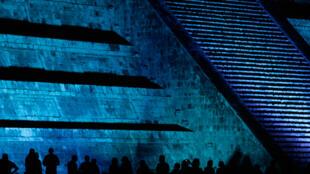 Chichen Itza, site archéologique mexicain, où s'est déroulé le «concert de la nuit su soleil» d'Elton John le 3 avril 2010.