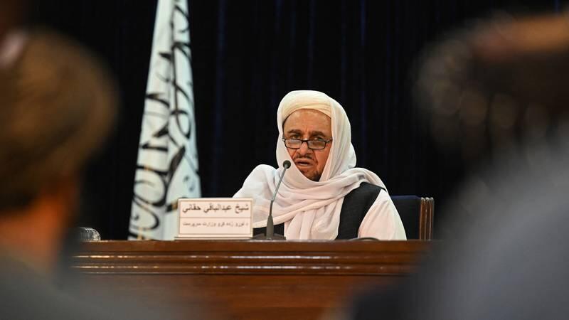 Afghanistan Abdul Baghi Haqqani ministre de l'enseignement superieur