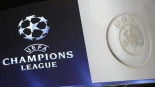Logo de la ligue des Champions-UEFA