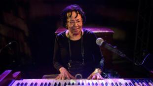 Rhoda Scott, l'organiste aux pieds nus.