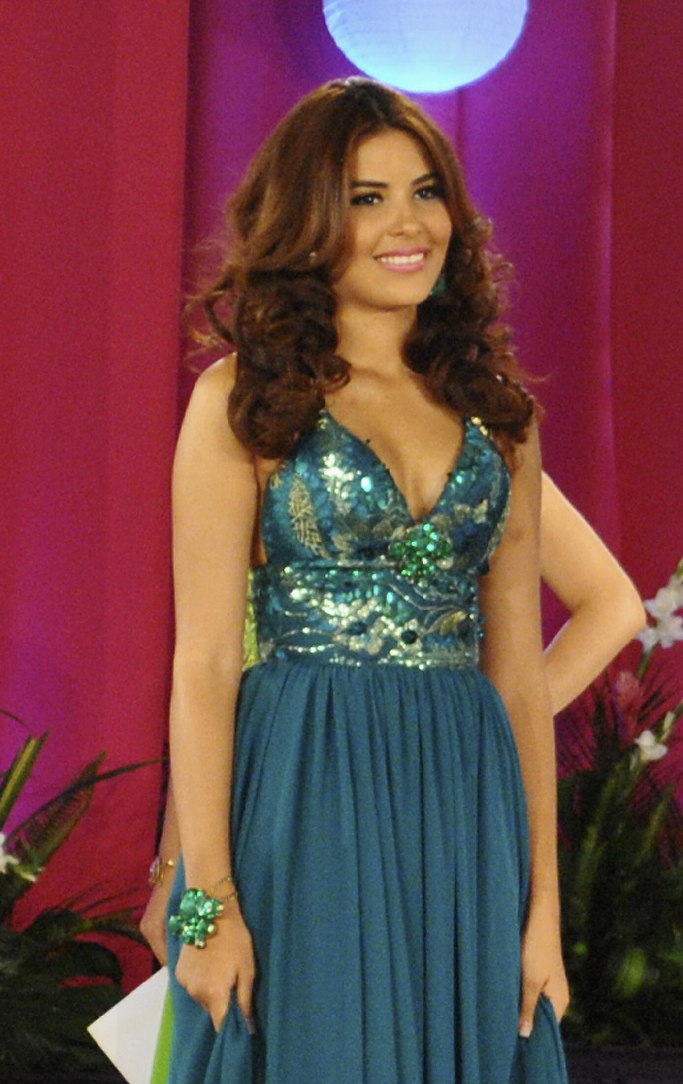 Maria Jose Alvarado, le 26 avril 2014 à San Pedro Sula, au Honduras.