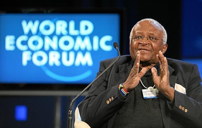 Mmoja wa waasisi wa taifa la Afrika Kusini na mwanaharakati, mchungaji Desmond Tutu