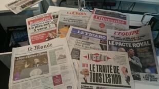 Diários franceses 26.04.2016