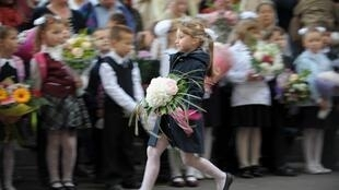 День знаний в одной из московских школ (фото из архива)