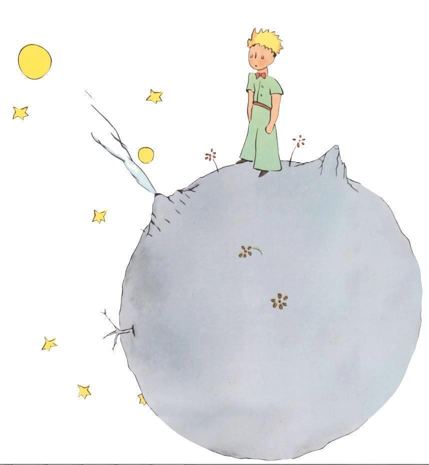 Book cover of Le Petit Prince by Antoine de Saint-Exupéry