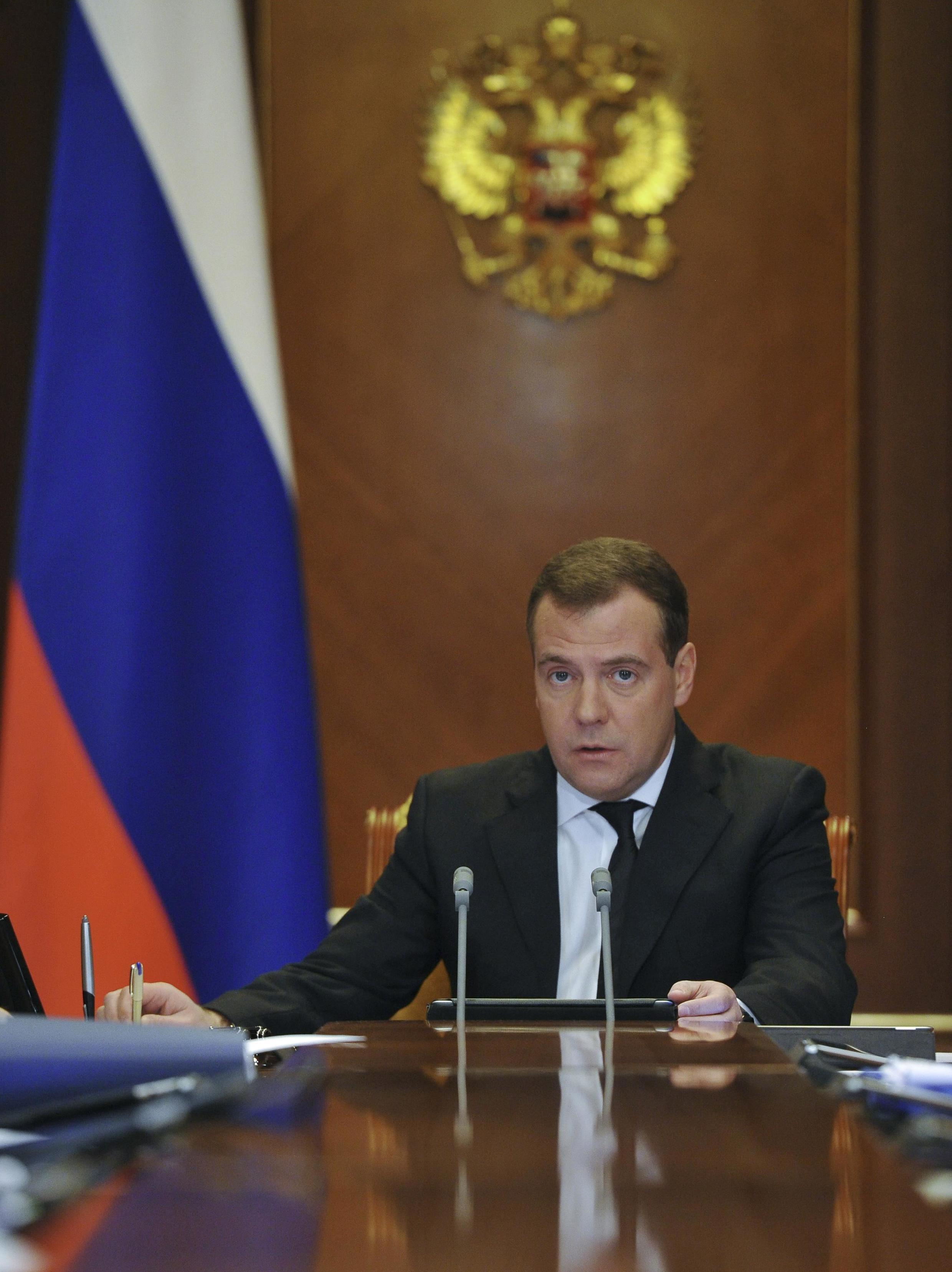 Le Premier ministre Dmitri Medvedev a vertement critiqué le plan de sauvetage européen.