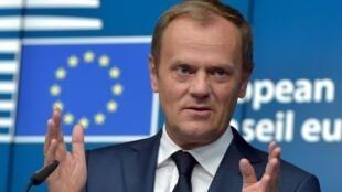 Председатель Евросовета Дональд Туск, 26 июня 2015.