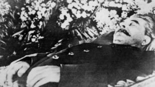 Joseph Staline, le 8 mars 1953, à Moscou.