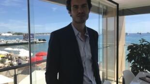 """Realizador brasileiro Fellipe Gamarano Barbosa com o filme """"Gabriel e a montanha"""" na Semana da crítica do Festival de Cannes"""