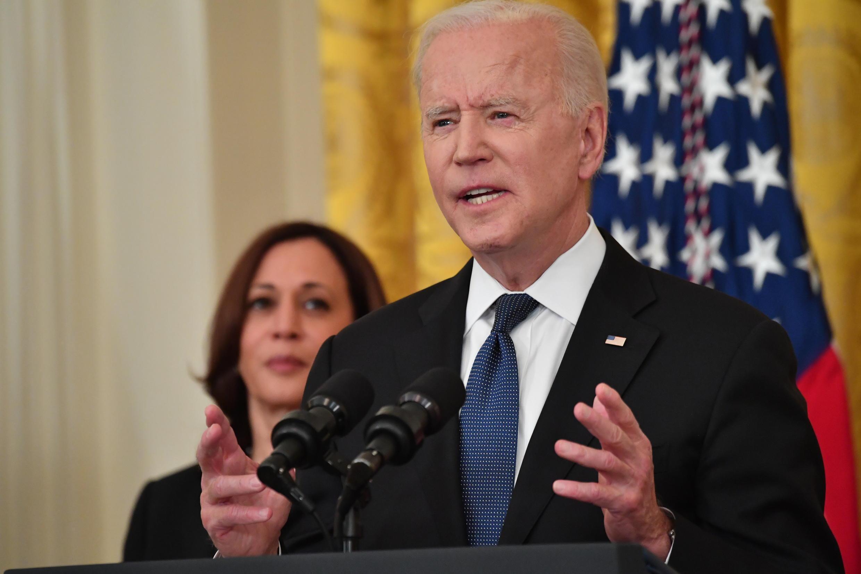 Joe Biden denuncia la violencia contra la comunidad asiática en el país, el 20 de mayo de 2021