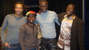 Olivier Baka, Adama Dao, Jim K Ressource et Adama Yalomba
