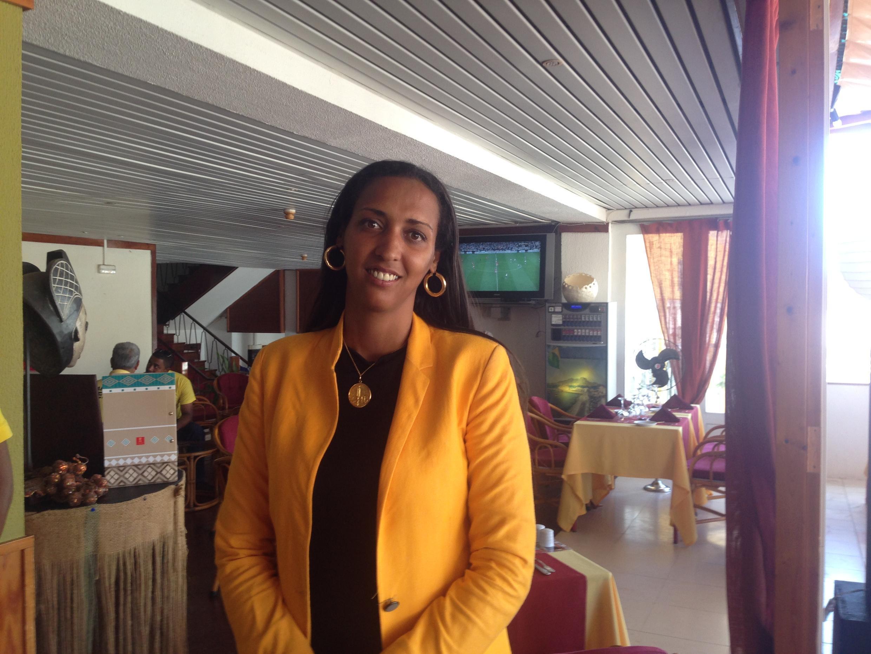 Janira Hopffer Almada, líder do PAICV.