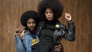 John David Washington et Laura Harrier dans «BlacKkKlansman: J'ai infiltré le Ku Klux Klan».