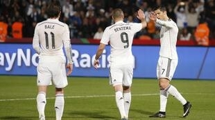 Cristiano Ronaldo da Karim Benzema da Bale a Morocco
