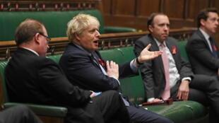 Royaume-Uni - coronavirus - Parlement - Boris Johnson