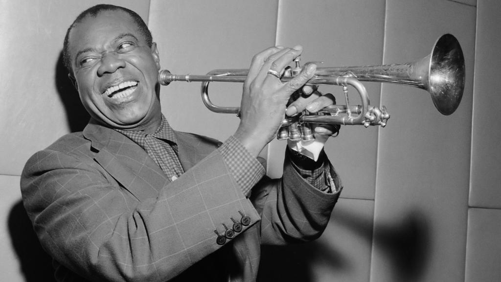 Louis Armstrong, le 29 octobre 1955.