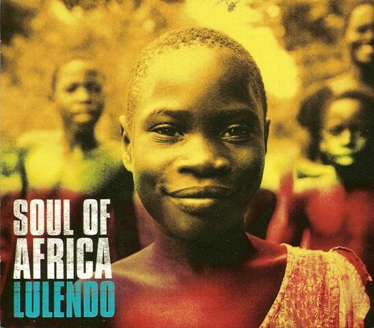 """Capa do disco """"Soul of Africa"""", de Lulendo"""