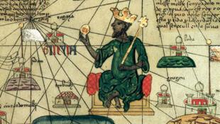 Kanga Moussa, le dixième « mansa » (roi des rois) de l'empire du Mali.