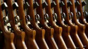 Armes à feu.
