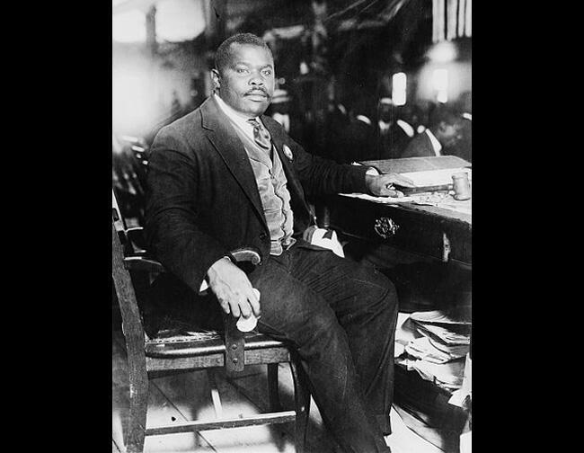 Marcus Garvey, le chef messianique